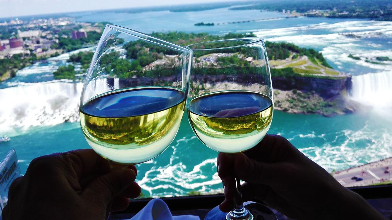 Armonía entre vino y agua