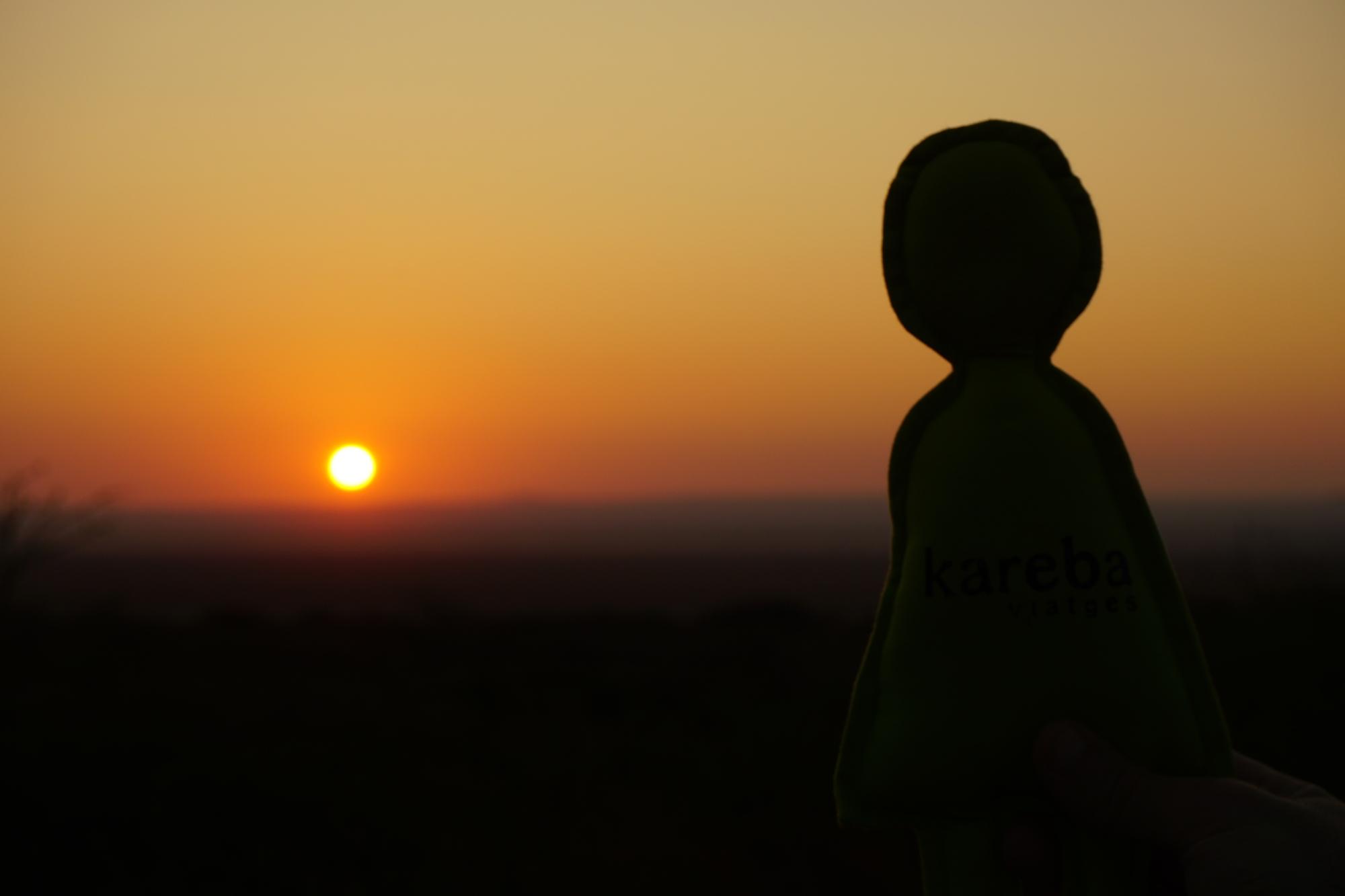 Sunset of Tanzania
