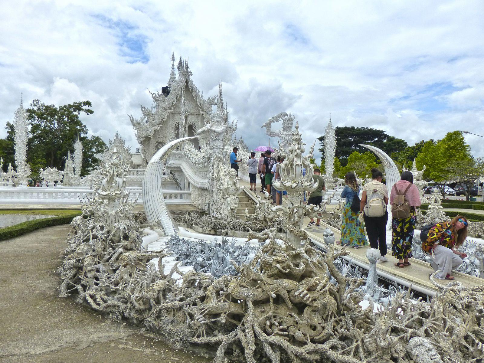 Templo Blanco(Tailandia)