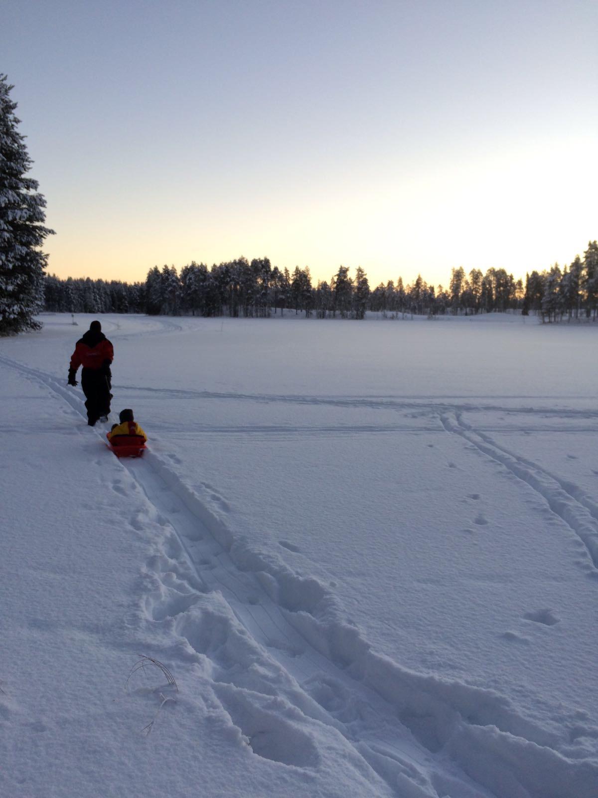 Mañana en Laponia
