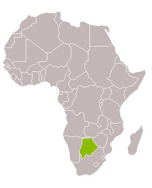 Botswana desert i aigua Setmana Santa
