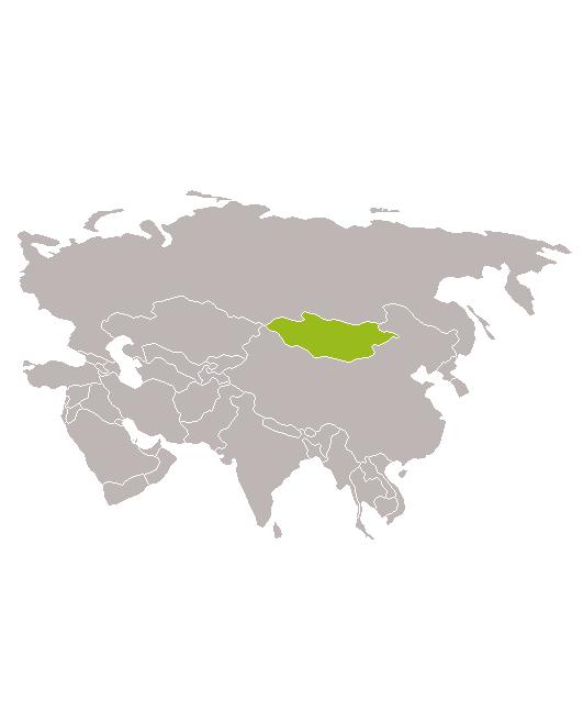 Estepa y desierto mongol