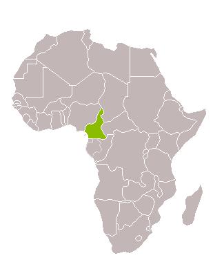 Camerun nord i sud Cap d'Any